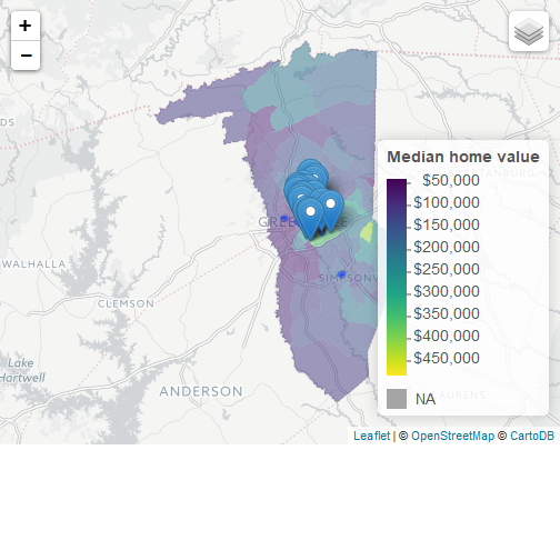 How to make interactive maps with Census and local data in R